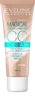 Eveline Cosmetics Magical Colour Correction CC Cream LSF 15