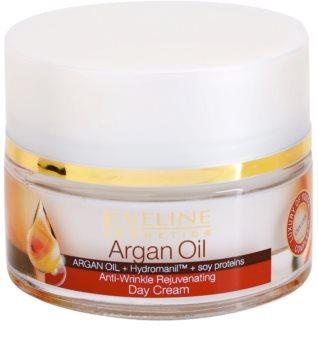 Eveline Cosmetics Argan Oil crema de día rejuvenecedora  antiarrugas