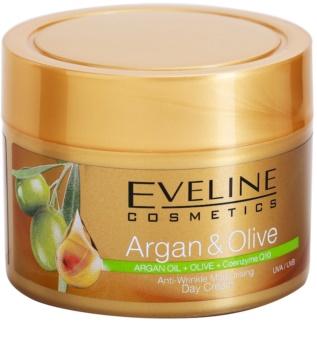 Eveline Cosmetics Argan & Olive creme de dia hidratante antirrugas