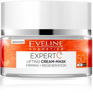 Eveline Cosmetics Expert C crema de día y noche con efecto lifting 50+