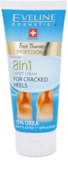 Eveline Cosmetics Foot Therapy crema para talones agrietados 8 en 1