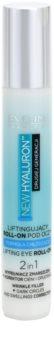 Eveline Cosmetics New Hyaluron lifting roll-on para olhos com efeito refrescante 2 em 1