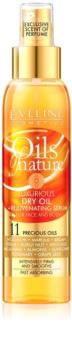 Eveline Cosmetics Oils of Nature luxusný suchý olej s omladzujúcim sérom