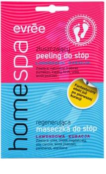 Evrée Home Spa peeling és maszk lábakra