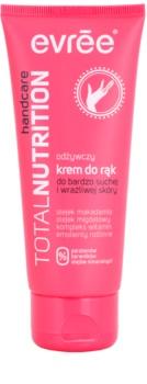Evrée Total Nutrifirm odżywczy krem do rąk dla skóry suchej i wrażliwej
