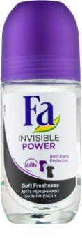 Fa Invisible Power antitranspirante con bola