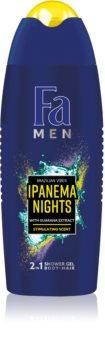 Fa Men Brazilian Vibes Ipanema Nights gel de banho estimulador 2 em 1