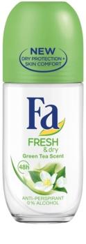 Fa Fresh & Dry Green Tea roll-on antibacteriano