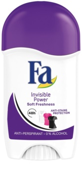 Fa Invisible Power antitranspirante en barra