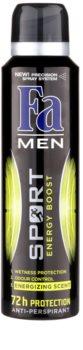 Fa Men Sport Energy Boost antitranspirante en spray