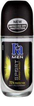 Fa Men Sport Energy Boost antitranspirante con bola