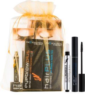 FacEvolution EyebrowPlus kosmetická sada Dark (pro ženy) odstín