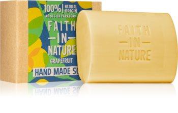 Faith In Nature Hand Made Soap Grapefruit sabão natural em barra