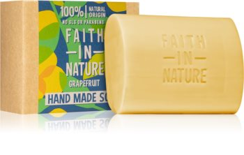 Faith In Nature Hand Made Soap Grapefruit savon solide naturel
