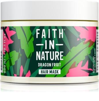 Faith In Nature Dragon Fruit revitalizáló maszk a károsult hajra