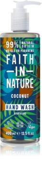 Faith In Nature Coconut natürliche Flüssigseife für die Hände mit Kokosöl