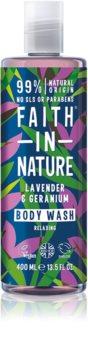 Faith In Nature Lavender & Geranium gel douche relaxant