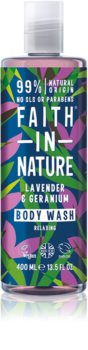 Faith In Nature Lavender & Geranium расслабляющий гель для душа