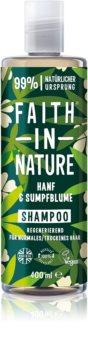 Faith In Nature Hemp & Meadowfoam obnovující šampon pro normální až suché vlasy