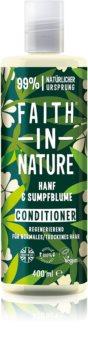 Faith In Nature Hemp & Meadowfoam erneuernder Conditioner Für normales bis trockenes Haar
