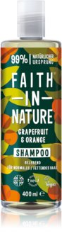 Faith In Nature Grapefruit & Orange Natural Shampoo For Normal To Oily Hair