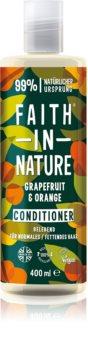 Faith In Nature Grapefruit & Orange természetes kondicionáló normál és száraz hajra