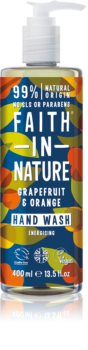 Faith In Nature Grapefruit & Orange přírodní tekuté mýdlo na ruce