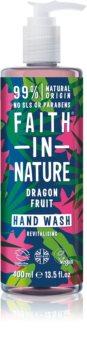 Faith In Nature Dragon Fruit Naturlig flydende håndsæbe med en revitaliserende effekt