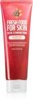 Farm Skin Fresh Food For Skin POMEGRANATE hydratační čisticí pěna
