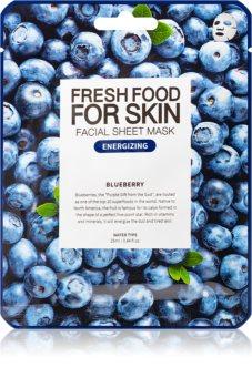 Farm Skin Fresh Food For Skin BLUEBERRY maska pielęgnująca w płacie