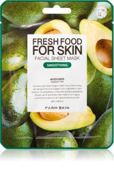 Farm Skin Fresh Food For Skin AVOCADO plátýnková maska