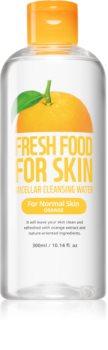 Farm Skin Fresh Food For Skin ORANGE orzeźwiający oczyszczający płyn micelarny