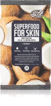 Farm Skin Super Food For Skin COCONUT chusteczki oczyszczające