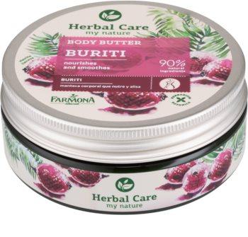 Farmona Herbal Care Buriti tápláló vaj a testre