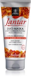 Farmona Jantar Masker  voor Beschadigd Haar