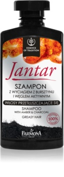 Farmona Jantar Shampoo with Activated Charcoal For Oily Hair