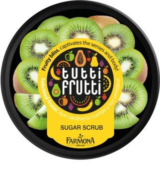 Farmona Tutti Frutti Kiwi Hautpeeling mit Zucker