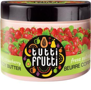 Farmona Tutti Frutti Wild Strawberry manteiga corporal aveludada