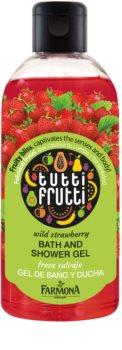 Farmona Tutti Frutti Wild Strawberry Dusch- und Badgel