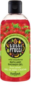 Farmona Tutti Frutti Wild Strawberry sprchový a kúpeľový gél