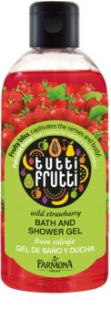 Гель для душа и ванны Farmona Tutti Frutti Wild Strawberry 300 ml