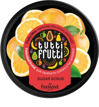Farmona Tutti Frutti Grapefruit Kropsskrub med sukker