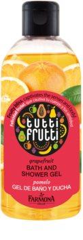 Farmona Tutti Frutti Grapefruit gel bain et douche