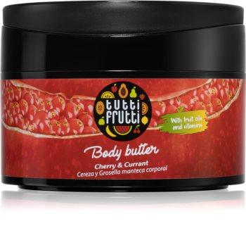 Farmona Tutti Frutti Cherry & Currant manteiga corporal