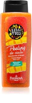 Farmona Tutti Frutti Peach & Mango exfoliant pentru corp