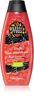 Farmona Tutti Frutti Blackberry & Raspberry λάδι για ντους και μπάνιο