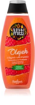 Farmona Tutti Frutti Orange & Strawberry τζελ για ντους και μπάνιο