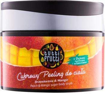 Farmona Tutti Frutti Peach & Mango сахарный пилинг для тела