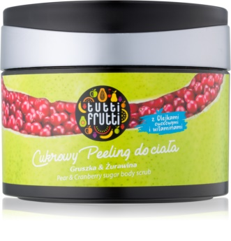 Farmona Tutti Frutti Pear & Cranberry cukrový peeling na telo