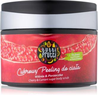 Farmona Tutti Frutti Cherry & Currant cukrový peeling na tělo